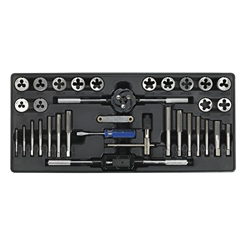 Sealey Tool Tray with Tap & Die Set (Sealey Tap)