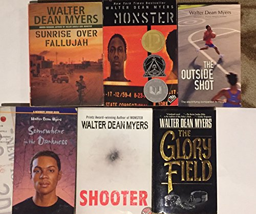 Walter Dean Myers Youth Fiction Collection (Somewhere In The Darkness By Walter Dean Myers)