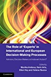 img - for The Role of 'Experts' in International and European Decision-Making Processes: Advisors, Decision Makers or Irrelevant Actors? book / textbook / text book