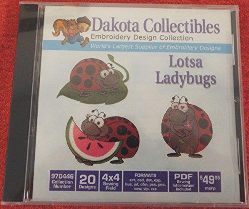 Dakota Collectibles 970446 Lotsa Ladybugs 20 Designs New