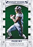 2017 Panini Football Knight School Green #KNS-CD Corey Davis 297/399 Tennessee Titans