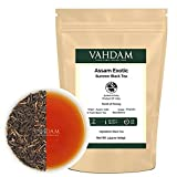 Exotic Assam Tea Leaves with Imperial Golden Tips, Harvest, Black Tea - Malty, Rich  and  Flavoury (50 Cups), Loose Leaf Tea Sourced Direct from Upper Assam Tea, Perfect English Breakfast Tea