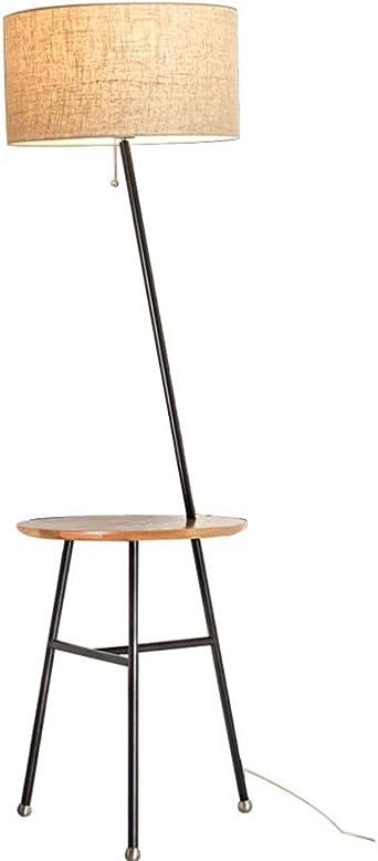 Lámpara de pie de estilo nórdico, mesa moderna y moderna, sala de ...