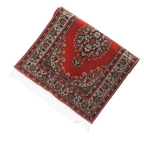 casa de munecas miniatura alfombra alfombra Interior modelado---23.5 x 14,8 cm SODIAL R