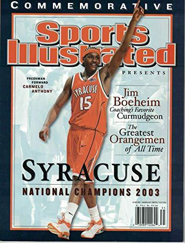 Carmelo Anthony Syracuse National Champions 2003 Sports