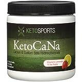 KetoSports KetoCaNa Dietary Supplement, Strawberry Lemonade, 305g