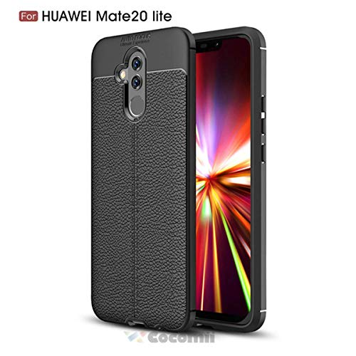 - Cocomii Ultimate Armor Huawei Mate 20 lite Case NEW [Heavy Duty] Premium Tactical Leather Pattern Grip Slim Fit Shockproof Bumper [Military Defender] Full Body Cover for Huawei Mate 20 lite (Ul.Black)