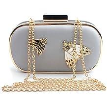 Asien Fashion PU Leather Handbags for Women Evening Clutch Bags Wedding Purse