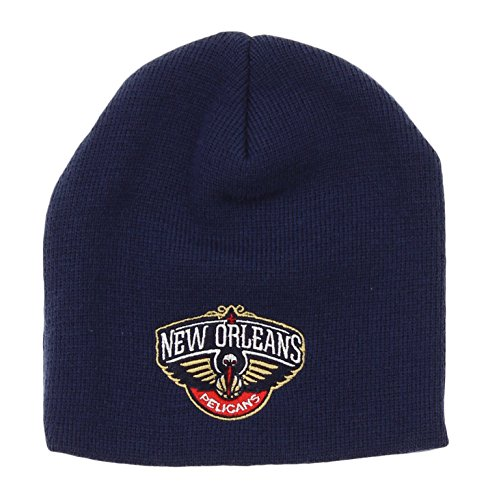 - adidas NBA Toddler's New Orleans Pelicans Basic Cuffless Knit Hat, Navy One Size (2T-4T)