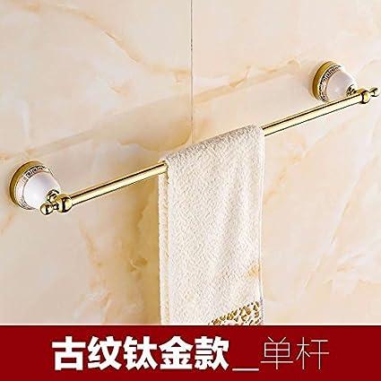 Accesorios de baño Yomiokla - Toalla de metal para cocina, inodoro, balcón y bañoUnión