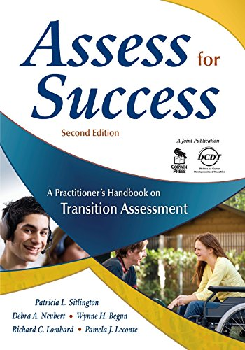 Assess for Success: A Practitioner′s Handbook on Transition Assessment