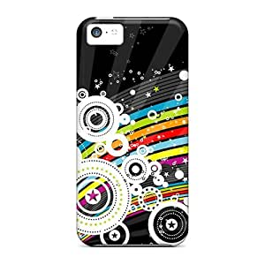 Top Quality Case Cover For Iphone 5c Case With Nice Abstract Appearance