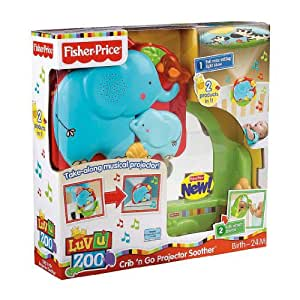 Fisher-Price Luv U Zoo Crib 'N Go Projector Soother (Discontinued by Manufacturer)