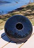 Idiopan Domina 12-Inch Tunable Steel Tongue Drum - Onyx Rainbow