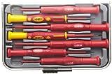 Morris Products 54232 Insulated Precision Screwdriver, 1,000 Volt, 7-Piece Set, Storage Case