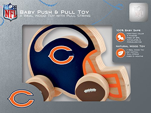 MasterPieces NFL Chicago Bears Push & Pull Toy