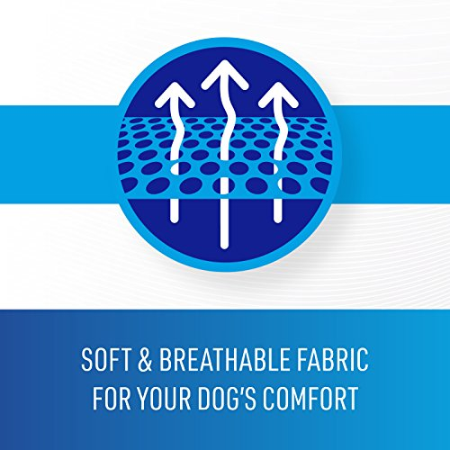 Comfort Zone Calming Vests for Dogs, for Thunder and Anxiety, Small (19-22 Chest)