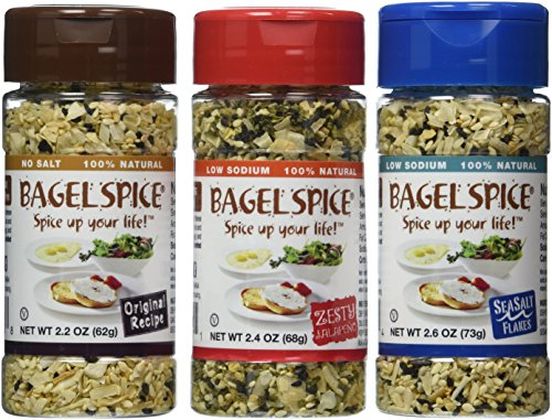 Bagel Spice 3 Pack Bundle by Bagel Spice