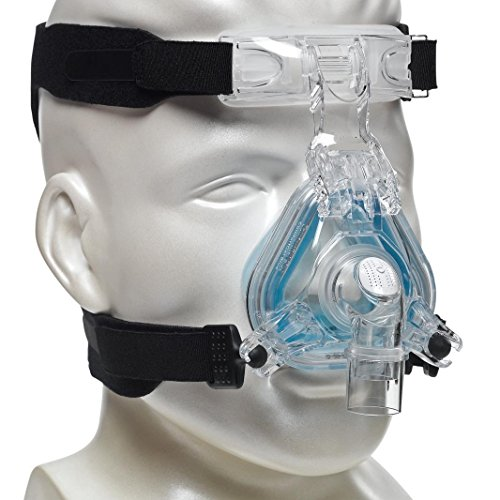 (UNIVERSAL CPAP HEADGEAR STRAP for ResMed Cpap Masks & Respironics Cpap Masks - CPAP Supplies Straps compatible w/most masks - No Leaks,Tight Seal,Perfect Fit = Max Comfort (Mask, clips NOT included))
