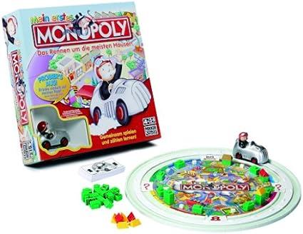 Hasbro 14546100 Mi Primer Monopoly - Juego de Mesa (Contenido en alemán) [Importado de Alemania]: Amazon.es: Juguetes y juegos