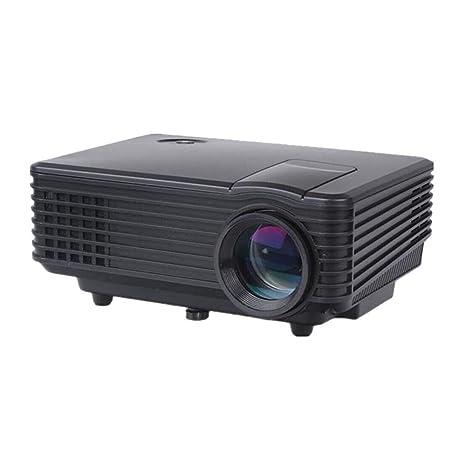 3d llevó el mini proyector 1080p hd completo proyector del lector ...