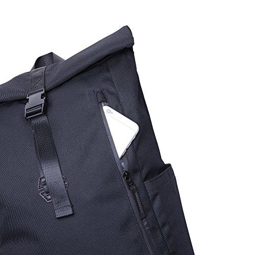 KAUKKO Casual Daypacks&multipurpose backpacks,Outdoor Backpack,Travel Casual Rucksack,Laptop Backpack Fits 15'' (04black) by KAUKKO (Image #5)