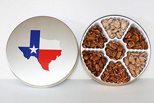Alamo Deluxe Texas Tin - 7 Gourmet Pecans