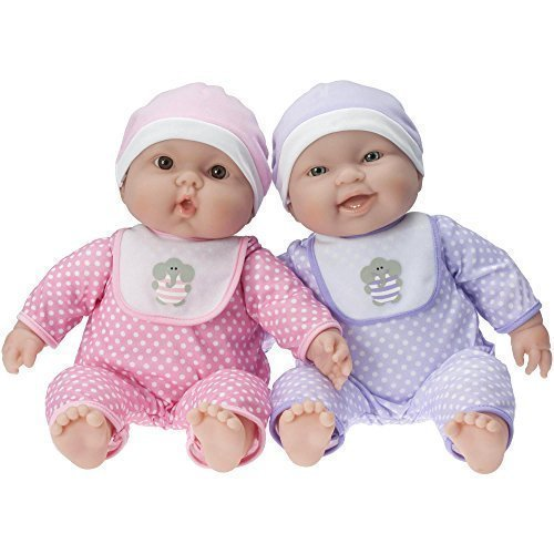 JC Toys Lots To Cuddle Babies Twin Dolls Designed by