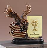 Eagle With Flag Picture Frame-Flag Picture Frame - 10 x 5.5 x 10 Inch