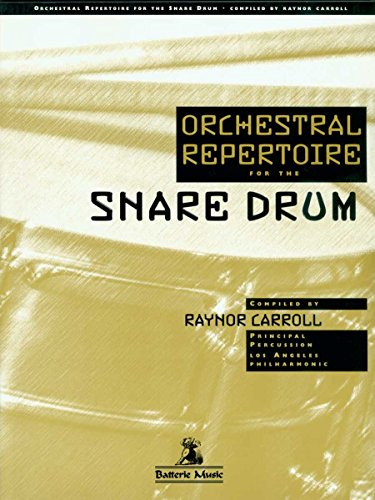 Orchestral Repertoire For Snare Drum