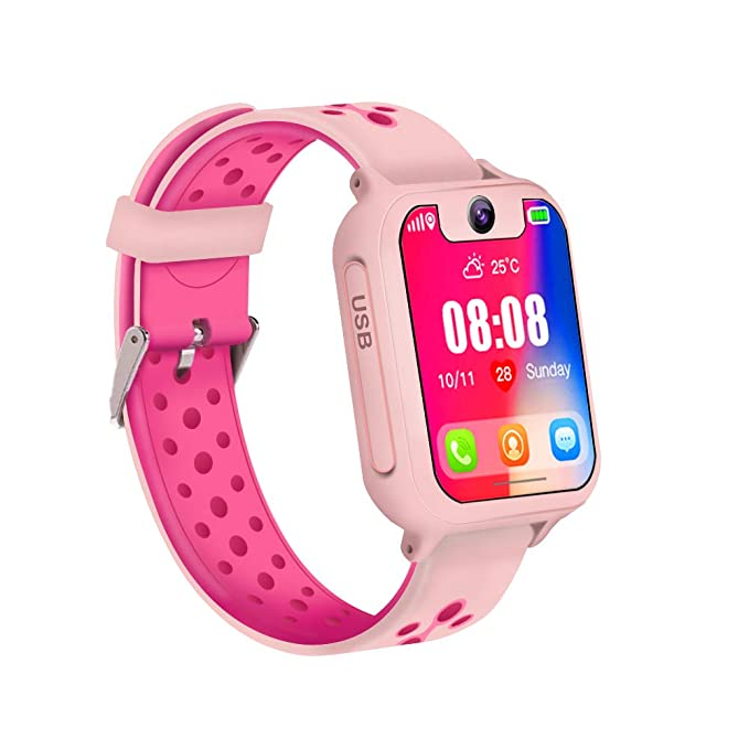25a3349545e Image Unavailable. Image not available for. Color  Kid Smart Watch ...