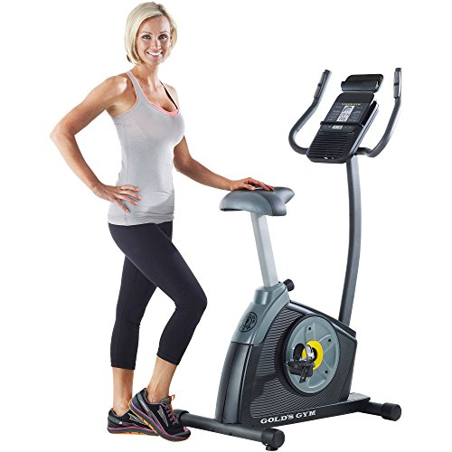 515p1KwJigL - Gold's Gym Cycle Trainer 300 Ci Exercise Bike with iFit Bluetooth Smart Technology