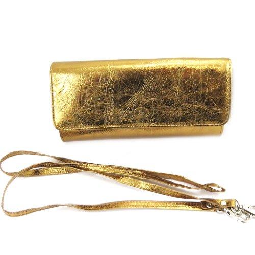 Ledertasche tasche Frandibronze (2 falten). PTshOcCL