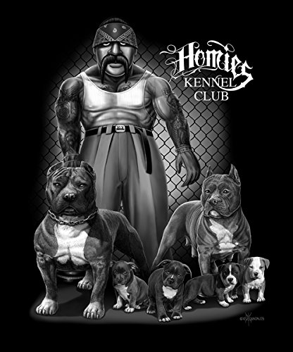 DGA Pitbull Signature Collection Super Soft Queen Size Plush Blanket - Homies Kennel Plush Of Month Club