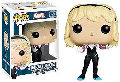 Funko Pop! Marvel - Spider Gwen sin máscara