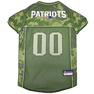 separation shoes d9323 920da NFL CAMO JERSEY for DOGS & CATS. Football Dog Jersey Camouflage available  in 32 NFL TEAMS & 5 sizes. Cuttest Hunting Dog Dress! Camouflage Pet Jersey  ...