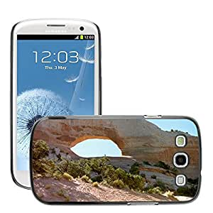 Hot Style Cell Phone PC Hard Case Cover // M00307975 Wilson'S Arch Rock Formation // Samsung Galaxy S3 S III SIII i9300