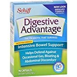 Digestive Advantage Probiotics-Intensive Bowel Support Probiotic Capsules-Survives 100x better than yogurt and leading probiotic-96 Capsules by Digestive Advantage Review
