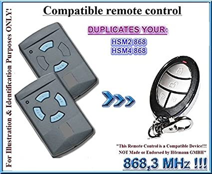 Top Compatible with Hormann HSM2, HSM4 868,3MHz Remote control, 868 DK54