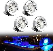 4Pcs Marine LED Lights, 12V Waterproof Navigation Boat lights, Boat Stern Light, Courtesy Lights, Boat Interio