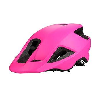 WXL Casco para montar hombres y mujeres Mountain Bike Road Bike Casco ecuestre WXLV (Color