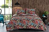 Greenland Home 3 Piece Tivoli Quilt Set, King