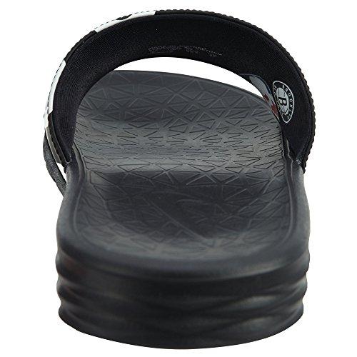 Nike Benassi Solarsoft Nba Mens Zwart / Wit-zwart