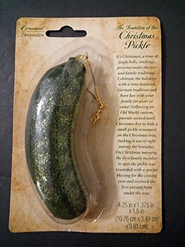 4square4life Christmas Pickle Ornament (Pickle Tradition German)