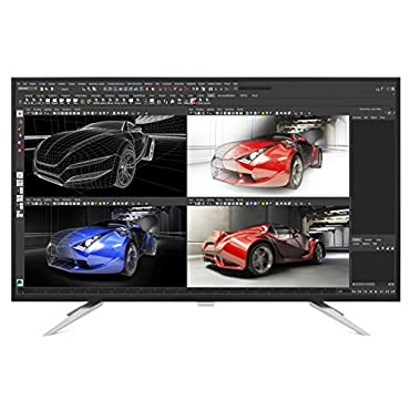 Philips BDM4350UC 43 Class IPS-LED Monitor, 4K Res, 300cd/m2, 5ms, 50M:1 DCR,VGA,HDMI(2),DP(2),USB 3.0,Spk