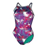 Dolfin Uglies V-2 Back Swimsuit Wave, 32