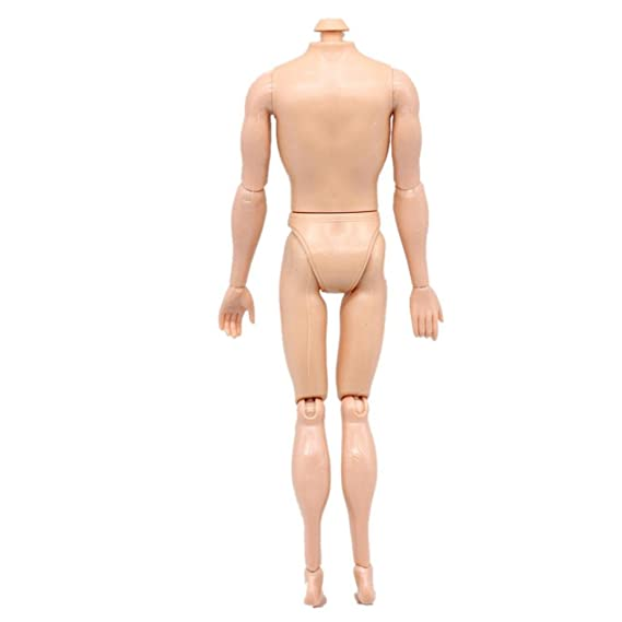 Amazon Com Rucan Boys Girls 14 Jointed Movable Nude Naked Doll Body