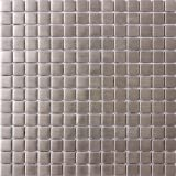 Susan Jablon Mosaics - 8mm 3/4 Inch Square Stainless Steel Tile