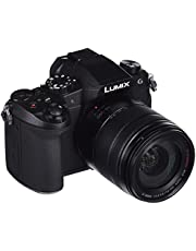 """Panasonic Lumix DMC-G80H - Cámara EVIL de 16 MP, Pantalla de 3"""", Estabilizador Óptico de 5 Ejes , Visor OLED, RAW, Wi-Fi, 4K, Kit con Objetivo Lumix Vario 14 - 140 mm/F3.5-5.6, Color Negro"""