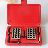 HFS Ultra Precision 1-2-3'' Blocks 2pcs/pair , 0.0001'' (Plastic Case)